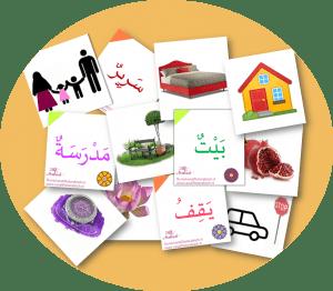 woordkaartjes van alif tot arabisch